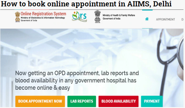 aiims appointment booking